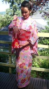 Miyako in yukata