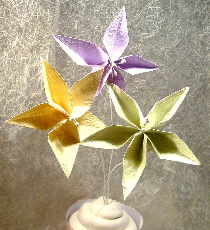 Origami Jasmine Flower Fold The