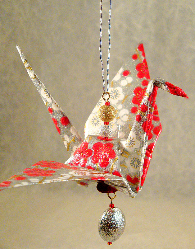 Fabric Origami Christmas Ornaments